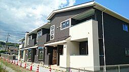 滋賀県大津市堅田1丁目の賃貸アパートの外観