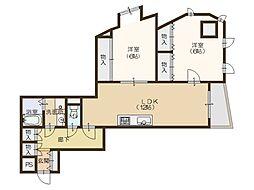 ボナールN[3階]の間取り