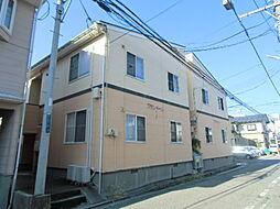 新潟県新潟市中央区米山4丁目の賃貸アパートの外観