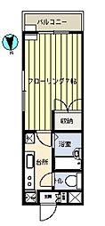 第21増尾ビル[102号室]の間取り