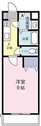 Windy堀ノ内[4階]の間取り