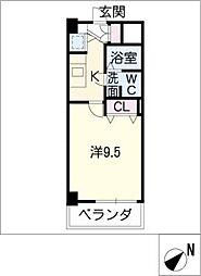 アーク徳重[2階]の間取り