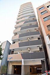 ラシュレエグゼ難波南[6階]の外観