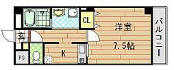 フェアライフII[3階]の間取り