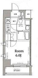 神奈川県横浜市神奈川区子安通3丁目の賃貸マンションの間取り