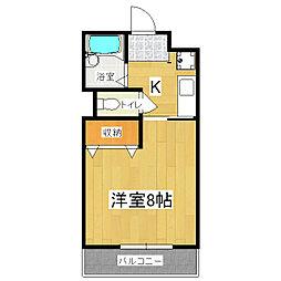 ベルコート94[3階]の間取り