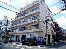 東京都目黒区青葉台1丁目の賃貸マンションの外観