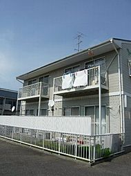 愛知県安城市小川町堂開道の賃貸アパートの外観