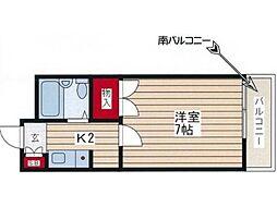 MSハイム八坂[1階]の間取り