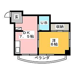 桜ビル[7階]の間取り
