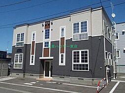 北海道札幌市東区北二十八条東17丁目の賃貸アパートの外観