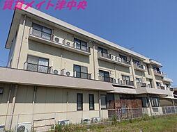 三重県津市栗真町屋町の賃貸マンションの外観