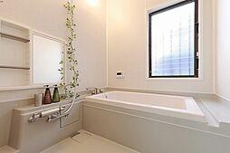 ゆっくりバスタイムを楽しめそうな浴室です。