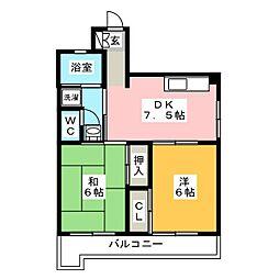 センターいずみビル[3階]の間取り