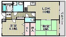 PRIME COURT[2階]の間取り