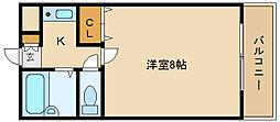 コートフォンティ[3階]の間取り