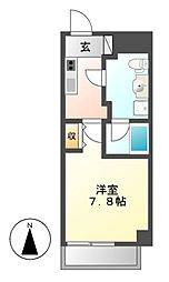サムティ茶屋ヶ坂RESIDENCE[3階]の間取り