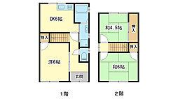 [一戸建] 兵庫県姫路市辻井2丁目 の賃貸【/】の間取り