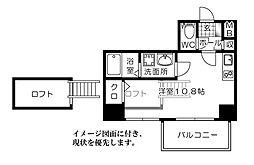 KatayamaBLDG26 片山ビル26[1304号室]の間取り