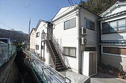 兵庫県神戸市須磨区妙法寺桜ノ界地の賃貸アパートの外観