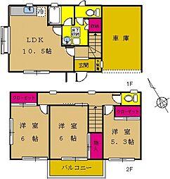 [タウンハウス] 東京都町田市小川1丁目 の賃貸【/】の間取り
