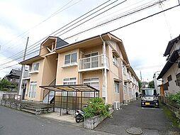 埼玉県越谷市花田3丁目の賃貸アパートの外観