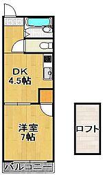 富士見II[2階]の間取り