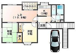 宮野町住宅[2階]の間取り