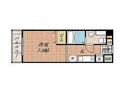 ベラフォーレ[2階]の間取り