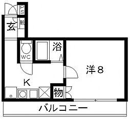 Rinon恵我ノ荘(リノン恵我ノ荘)[207号室号室]の間取り