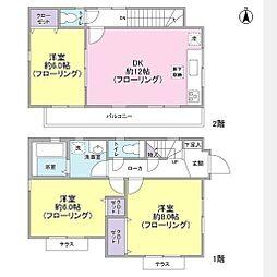 [一戸建] 神奈川県横浜市磯子区滝頭1丁目 の賃貸【/】の間取り