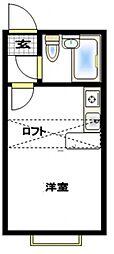 ベルピア茅ヶ崎第2[2階]の間取り