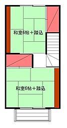 [一戸建] 神奈川県足柄下郡湯河原町鍛冶屋 の賃貸【/】の間取り