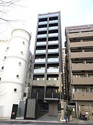 東京都港区赤坂2丁目の賃貸マンションの外観