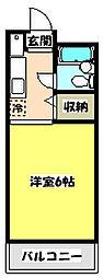 青木葉センタービル[3階]の間取り