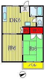 八ヶ崎ハウス[1階]の間取り