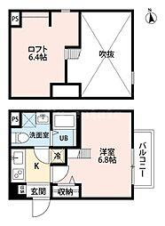 ディアコート(tateru)[1階]の間取り