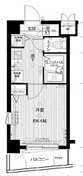 メインステージ南麻布II[8階]の間取り