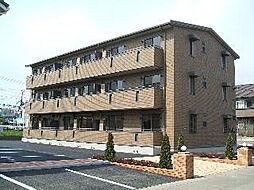 栃木県小山市犬塚5丁目の賃貸アパートの外観