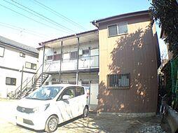千葉県柏市中原2丁目の賃貸アパートの外観