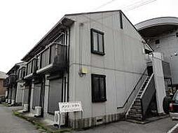 栃木県宇都宮市松原2丁目の賃貸アパートの外観