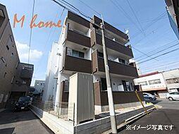 愛知県名古屋市北区中杉町1丁目の賃貸アパートの外観