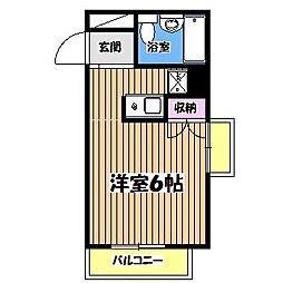 セゾン[3階]の間取り