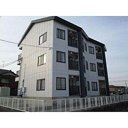 愛知県あま市新居屋鶴田の賃貸マンションの外観