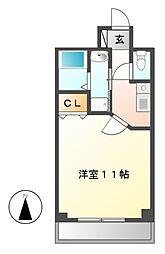 ABC Sakura Garden(サクラガーデン)[4階]の間取り