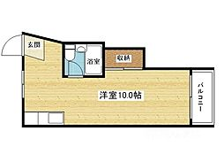 第三和田マンション[5階]の間取り