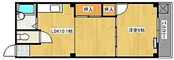 藤川ビル[303号室]の間取り