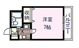 ウイン和泉大宮[4階]の間取り