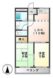 セントラルパーク D棟[1階]の間取り