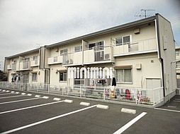小川パークハイツA[2階]の外観